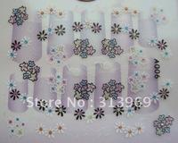 3d Nail Art Design nail Stickers Sheets Decals 3D nail seal A Series 48 styles 500pcs/lot