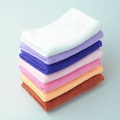 [CPA Free Shipping] Wholesale Colorful Microfiber Dish Clean Cloth / 25cmX25cm Kitchen Clean Cloth (SX-31)
