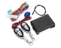 Car Remote Central Lock Locking Keyless Entry System with Remote Controllers, 1Piece free shipping