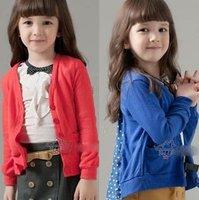 Baby Girls cardigan coat kids children dot long sleeve outwear girls' princess Coat 1107 B zgs