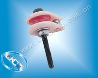 Caged ceramic pulley,wire jump preventer KC006 ceramic roller guide for coil winding machine
