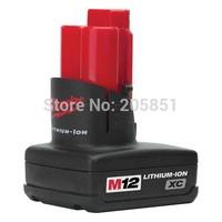 Milwaukee M12 M12BX 48-11-2402 12V LITHIUM-ION XC Battery 3.0Ah