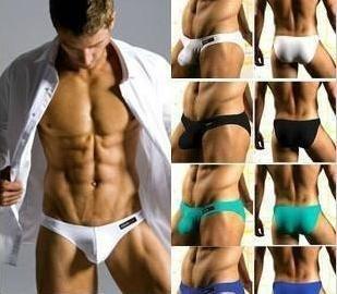 Brand new Wholesale 10pcs/Lot fashion men's briefs mens sexy men's underwear Cotton briefs size M,L,XL  TH003-03