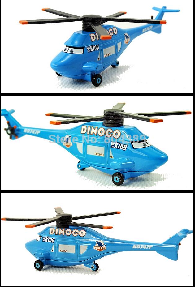 PIXAR CARS DINOCO HELICOPTER # 27 THE WORLD OF CARS EDITION KING DINOCO(China (Mainland))