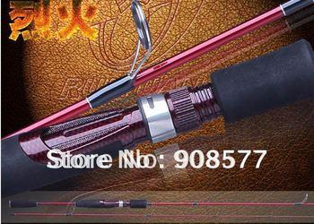Fishing rod  Good quality carbon fishing rod Burgundy 2.1m 120g/pcs Free shipiing!!!