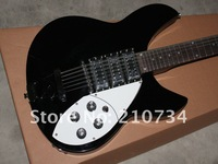 Wholesale -Ric25 cheap!! wholesale 12/6 string JAZZ 3pickup custom  electric guitar