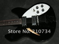 Wholesale -free shipping Ric black Electric guitar