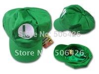 free shipping DHL EMS 100pcs/lot 2012 hat new Wholesale Super Mario Bro Anime mario Hat Kids Cap Cosplay New mario cap  22