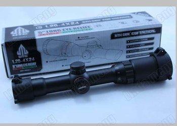 Leapers 1.25-4X24E angled optical telescopes Rifle Scope Free shipping