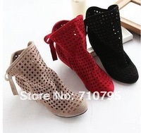 Free shipping , 2013 hotsales , ladies fashion shoes ,women fashion lovely princess shoes Wholesale and retail Flat Boots