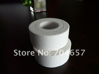 Wholesale/Hot Sale Cotton SportsTape, fingure protect tape for volleyball 5cm*10m/ 10rolls/lot (Free By China Post Air Mail)
