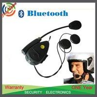 1pc Motorcycle Helmet Bluetooth headset /FM Radio receive GPS mobile phone Mp3