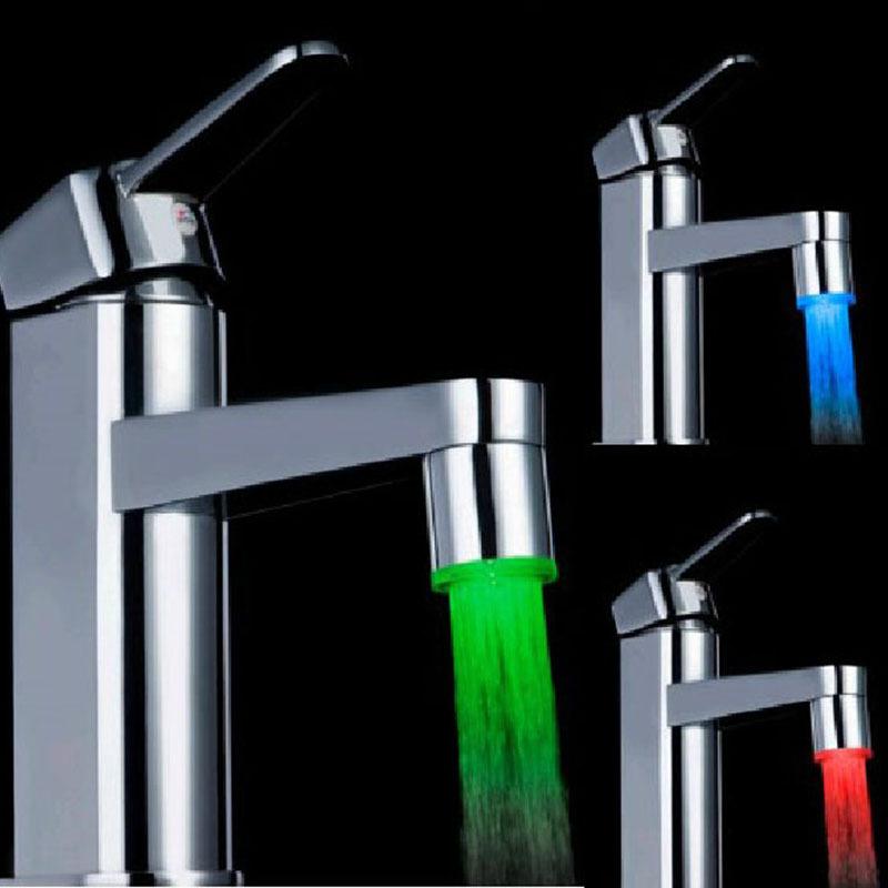 Keuken Licht Blauw : Kitchen Faucet Water Glow LED Light