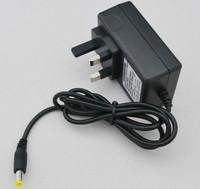 AC 100V-240V Converter Adapter DC 24V 1A Power Supply UK Plug 50PCS+ DHL Free shipping DC 5.5mm x 2.1mm 1000mA