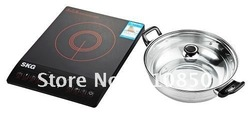 Wholesale Free shipping SKG PJ205-W electrical induction cooker electric induction stove single induction hob 4pcs/carton(China (Mainland))