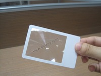 1000pc/lot  Promotional PVC credit card magnifier (Free shipping)