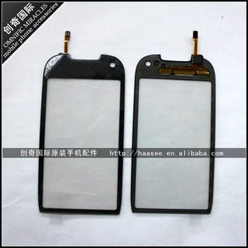 Free shipping 100% original mobile phone Digitizer touch screen for Nokia C7