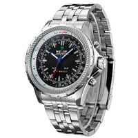 Rare LED Dual Core Digital Analog Diving Chronograph Sport Mens Wrist Watch Nice Gift Wholesale Price A354