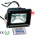 Black 10W RGB LED FloodLight  Flood Wall Lights Light 85~265V Wholesale warranty 2 years CE & ROHS x 10pcs -- ship via experss