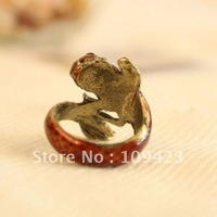 New Fashion Jewelry  Rings Fish Ring  60pcs Free Shipping  LTKE-1120