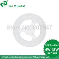 FREE SHIPING -7W ,DIP, E27,LED Circular Tube/LED circle light/LED Ring lam/LED Ring light, REPLACE FOR 22W fluorescent tube