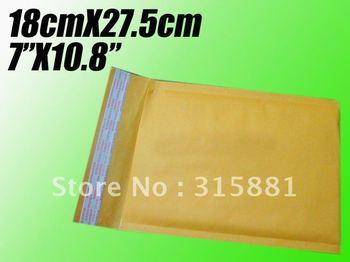 """Wholesale 7""""X10.8"""" 18cmX27.5cm  bubble envelope padded envelopes paper envelope bubble mailer bag"""