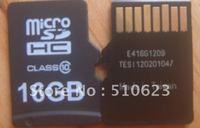 FREE SHIPPING  FULLand real capacity  TFcard  Micro sd card class 10 mlc 16gb     1PCS/LOT