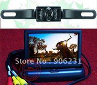 """Free shipping!! 4.3""""Monitor Rear View Reversing Backup Car Camera"""