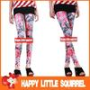 wholesale 2013 Fashion women's ladies sexy color flower floral slim leggings Tights pants wholesale