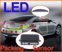 car 4 Sensors system 12V car LED Display Parking Reverse Backup Radar kit