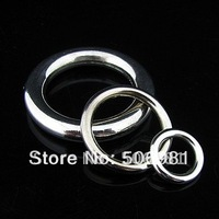 15mm Ring Shape Korea CCB Plastic Bead Loose Spacer Bead For Bracelet Necklace 500pcs/lot Free Shipping HA209