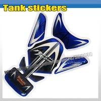 Hot ! Carbon Fiber Tank Pad Sticker Protector Decal