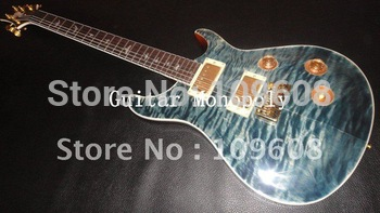 Wholesale - 2012 New arrival Amber gray bird fretboard PRS Electric guitar with gold hardware in stock / HOT
