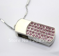 Free Shipping High Quality 4GB Jewelry Pen Drive