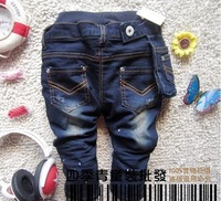New arrival Pocket children kids JEANS pants trousers 2-6years 100%COTTON COOL Best gifts