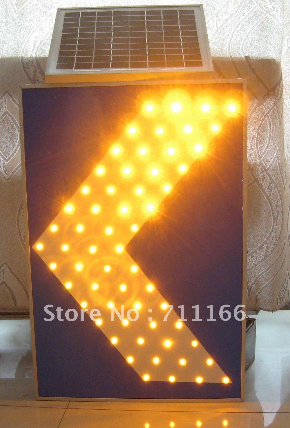 LED Solar Traffic Directive Sign(China (Mainland))