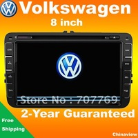 New!!! 8'' car head unit for VW GOLF POLO PASSAT CC JETTA TIGUAN TOURAN EOS SHARAN SCIROCCO TRANSPORTER (T5) CADDY