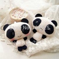 10PCS Vending Machine TOY Plush DOLL Kawaii Panda Cell Mobile Phone Charm Strap Lanyard Bag Pendant TOY Keychain TOY DOLL