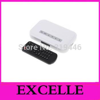 NEW NBOX TV USB TO HDD MP4 RM RMVB MPEG AVI Media Player white  color