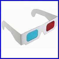 Paper 3D glasses/Paper Frame Resin Lens Red/Blue lens 3d glasses/3D vision glasses low price sale,RY9016