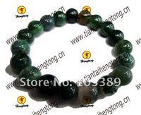 10mm pave setting stone bead bracelet/agate bracelet special offer