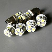 Free shipping T20/7440 W21W 8SMD -5050 LED car bulb turn signal light 1156 ba15s car light