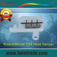 buy 1lot 2pcs free DX4 print head small damper for mimaki jv3 jv2 jv4 mutoh rj800 roland sp vp 300 540 printer small ink damper