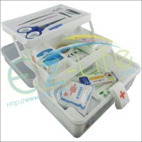 Free shipping! First aid kit box, home emergency medical case
