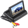 "Promotional Sale ! 4.3"" TFT LCD Car Rearview Monitor with 2 channel video input + support NTSC / PAL ! Free Shipping"