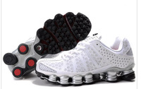 Brand New  2014's style  shox  Mens White  sports fashin shoes  cheapest price  fast delivery