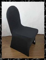 Free shipping chair cover  wedding chair cover    ( black)
