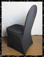 Free shipping- spandex chair cover  ( black)