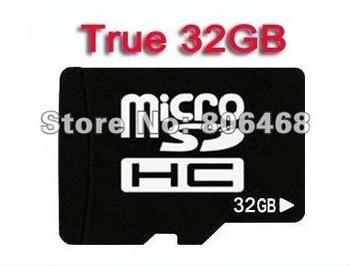 Brand New Real 32GB MicroSD Class 6 Micro SD HC MicroSDHC TF Flash Memory Card Genuine 32 GB with adapter
