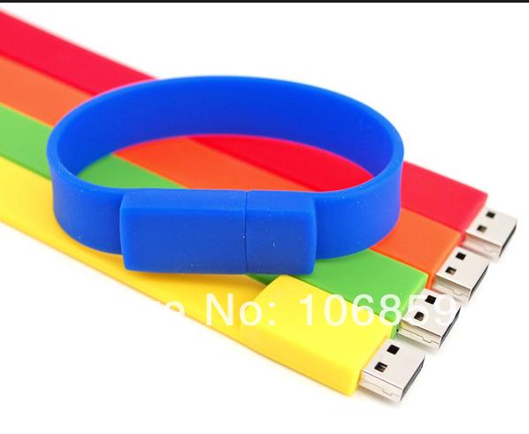 Wholesale-Retail 50pcs/pcs 8GB USB+100% Quality Guranteed+Bracelet usb flash drive 8gb(China (Mainland))